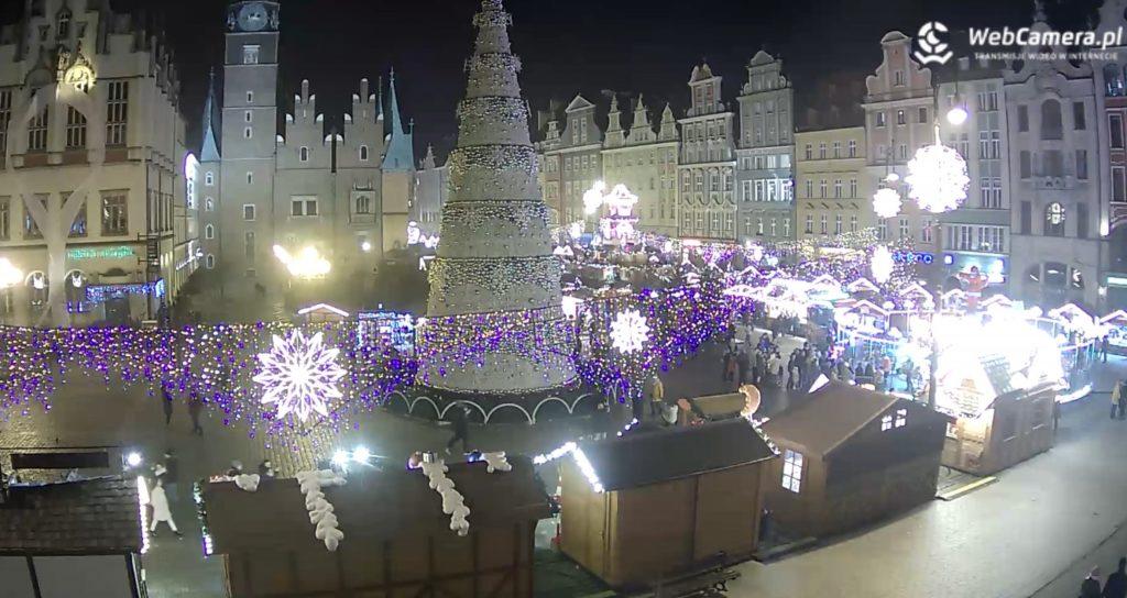 Jarmark we Wrocławiu kamera